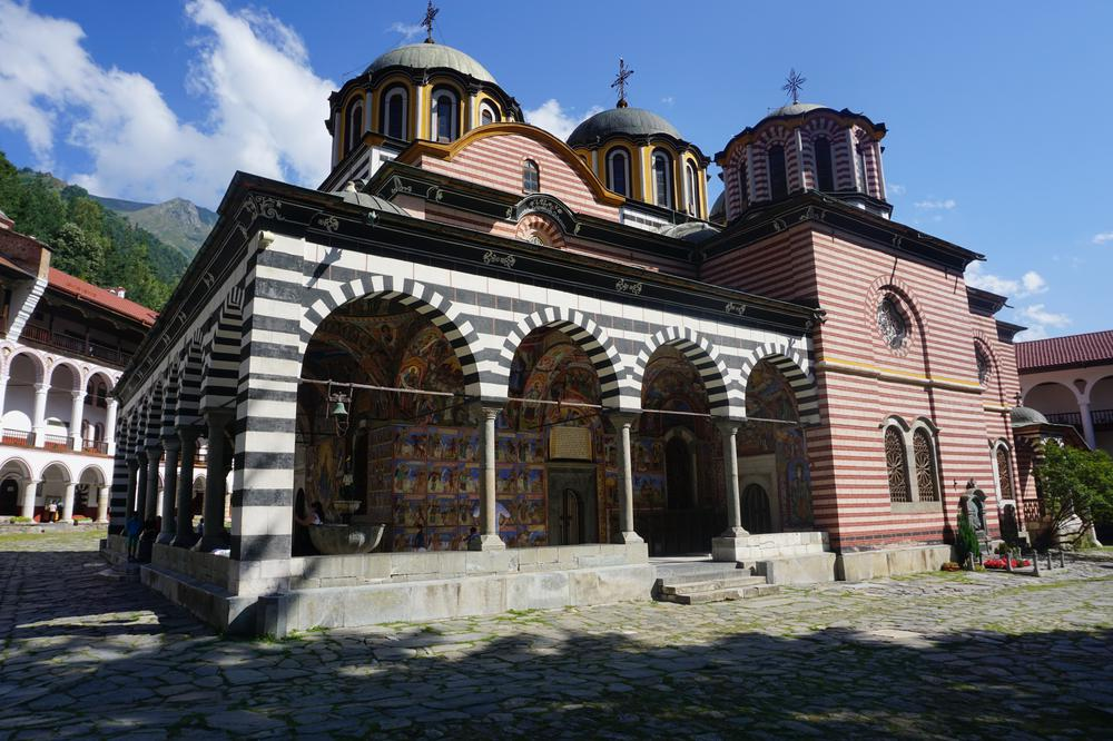 Rila Monastery - The most beautiful & iconic building